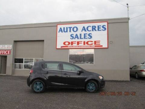 2013 Chevrolet Sonic for sale at Auto Acres in Billings MT
