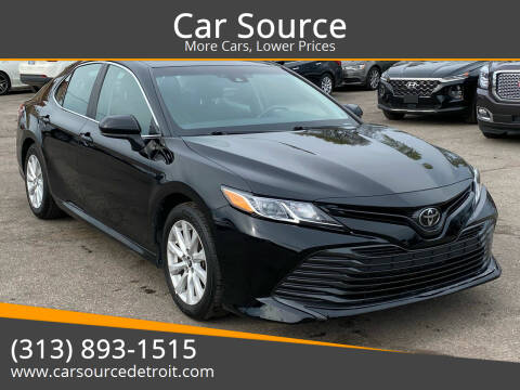 2019 Toyota Camry for sale at Car Source in Detroit MI