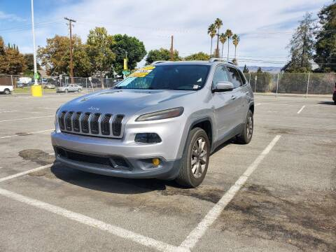 2017 Jeep Cherokee for sale at ALL CREDIT AUTO SALES in San Jose CA