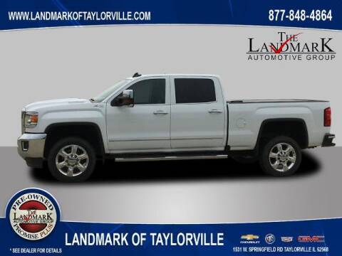 2018 GMC Sierra 2500HD for sale at LANDMARK OF TAYLORVILLE in Taylorville IL