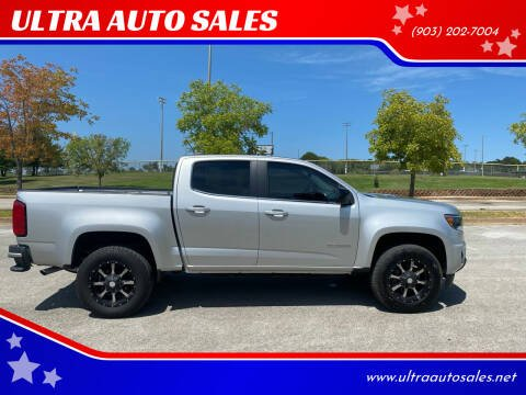 2016 Chevrolet Colorado for sale at ULTRA AUTO SALES in Whitehouse TX