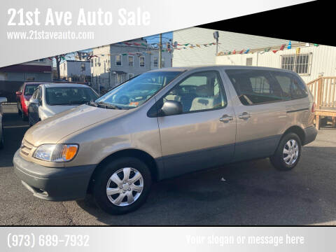 2001 Toyota Sienna for sale at 21st Ave Auto Sale in Paterson NJ