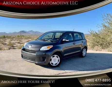 2012 Scion xD for sale at Arizona Choice Automotive LLC in Mesa AZ