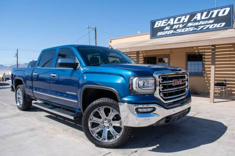 2017 GMC Sierra 1500 for sale at Beach Auto and RV Sales in Lake Havasu City AZ