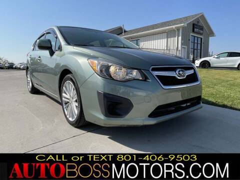 2014 Subaru Impreza for sale at Auto Boss in Woods Cross UT