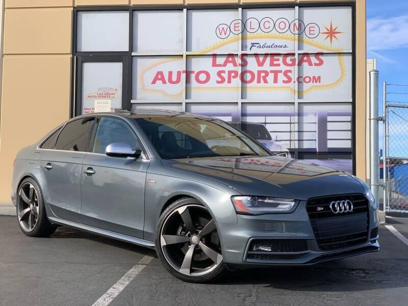 2013 Audi S4 for sale at Las Vegas Auto Sports in Las Vegas NV