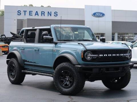 2021 Ford Bronco for sale at Stearns Ford in Burlington NC