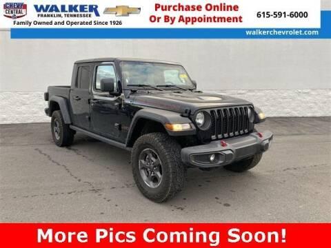 2020 Jeep Gladiator for sale at WALKER CHEVROLET in Franklin TN