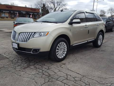 2011 Lincoln MKX for sale at AUTOSAVIN in Elmhurst IL