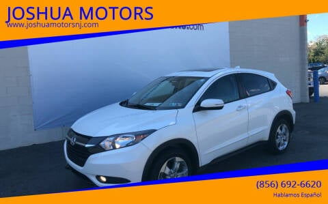 2016 Honda HR-V for sale at JOSHUA MOTORS in Vineland NJ