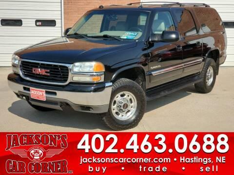 2005 GMC Yukon XL for sale at Jacksons Car Corner Inc in Hastings NE