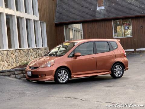 2008 Honda Fit for sale at Cupples Car Company in Belmont NH