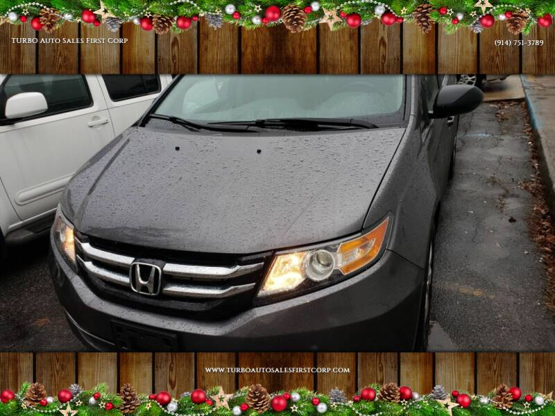 2015 Honda Odyssey for sale at TURBO Auto Sales First Corp in Yonkers NY