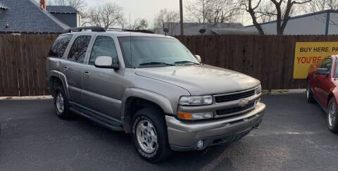 2002 Chevrolet Tahoe for sale at Elliott Autos in Killeen TX