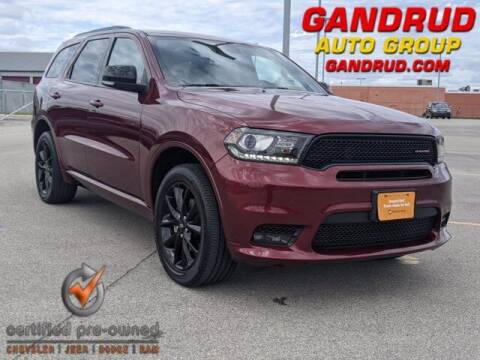 2019 Dodge Durango for sale at Gandrud Dodge in Green Bay WI