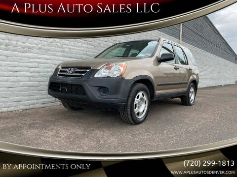 2006 Honda CR-V for sale at A Plus Auto Sales LLC in Denver CO