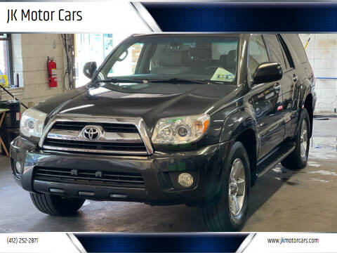 2007 Toyota 4Runner for sale at JK Motor Cars in Pittsburgh PA