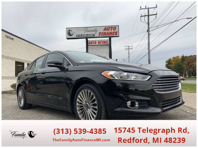 2013 Ford Fusion for sale at The Family Auto Finance in Redford MI