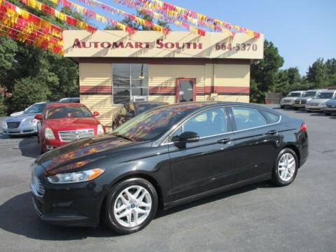 2015 Ford Fusion for sale at Automart South in Alabaster AL