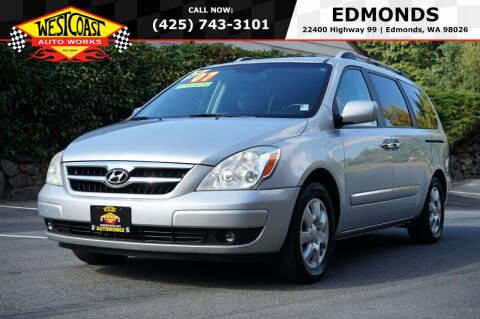 2007 Hyundai Entourage for sale at West Coast Auto Works in Edmonds WA