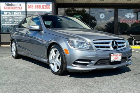 2011 Mercedes-Benz C-Class for sale at Michaels Auto Plaza in East Greenbush NY