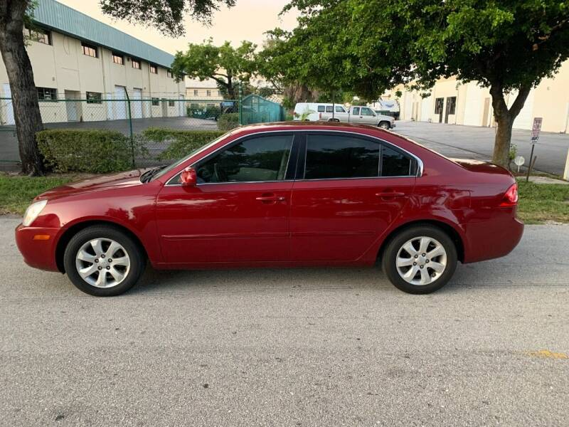 2007 Kia Optima for sale at MOTORCARS OF DISTINCTION INC in West Palm Beach FL