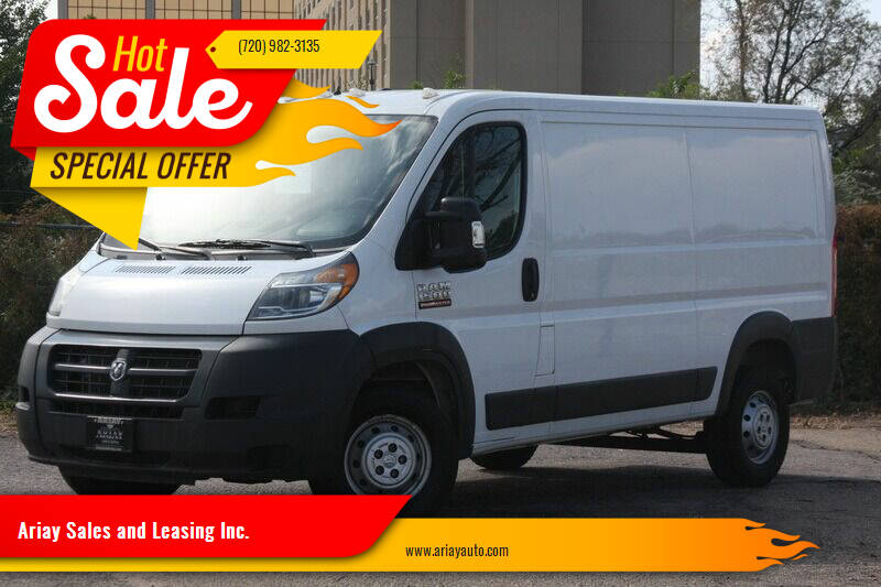 2015 RAM ProMaster Cargo for sale at Ariay Sales and Leasing Inc. - Pre Owned Storage Lot in Glendale CO