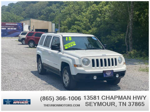 2015 Jeep Patriot for sale at Union Motors in Seymour TN