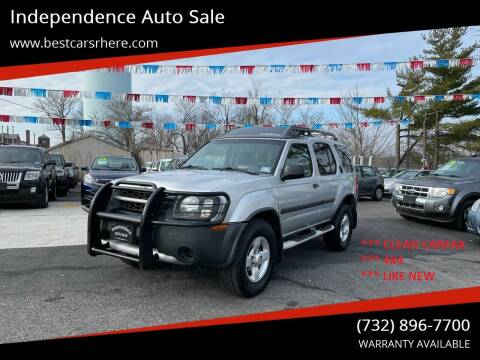 2004 Nissan Xterra for sale at Independence Auto Sale in Bordentown NJ
