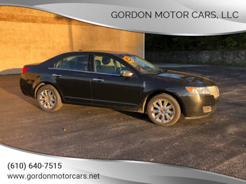 2012 Lincoln MKZ for sale at Gordon Motor Cars, LLC in Frazer PA