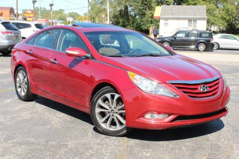 2013 Hyundai Sonata for sale at Dynamics Auto Sale in Highland IN