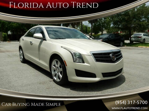 2014 Cadillac ATS for sale at Florida Auto Trend in Plantation FL