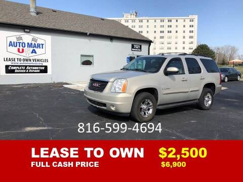 2008 GMC Yukon for sale at Auto Mart USA -Lease To Own in Kansas City MO