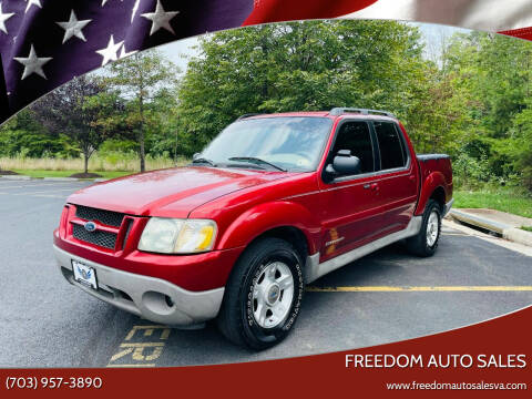 2002 Ford Explorer Sport Trac for sale at Freedom Auto Sales in Chantilly VA