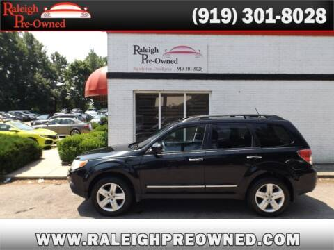 2010 Subaru Forester for sale at Raleigh Pre-Owned in Raleigh NC