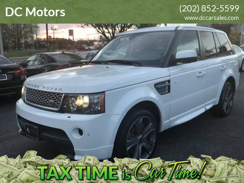 2013 Land Rover Range Rover Sport for sale at DC Motors in Springfield VA