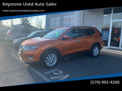 2018 Nissan Rogue for sale at Keystone Used Auto Sales in Brodheadsville PA