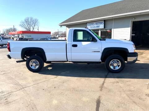 2006 Chevrolet Silverado 2500HD for sale at Steffes Motors in Council Bluffs IA