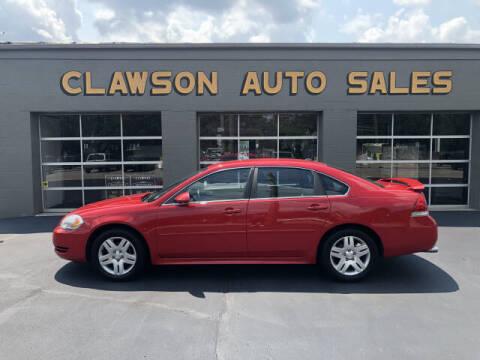 2013 Chevrolet Impala for sale at Clawson Auto Sales in Clawson MI