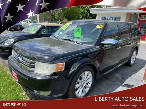 2012 Ford Flex for sale at Liberty Auto Sales in Elgin IL
