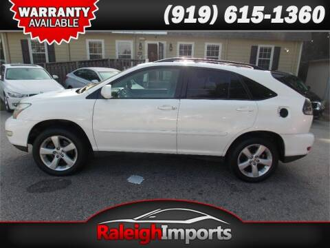 2004 Lexus RX 330 for sale at Raleigh Imports in Raleigh NC