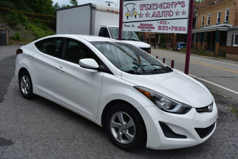 2014 Hyundai Elantra for sale at Frenchy's Auto LLC. in Pittsburgh PA