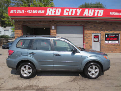 2011 Subaru Forester for sale at Red City  Auto in Omaha NE