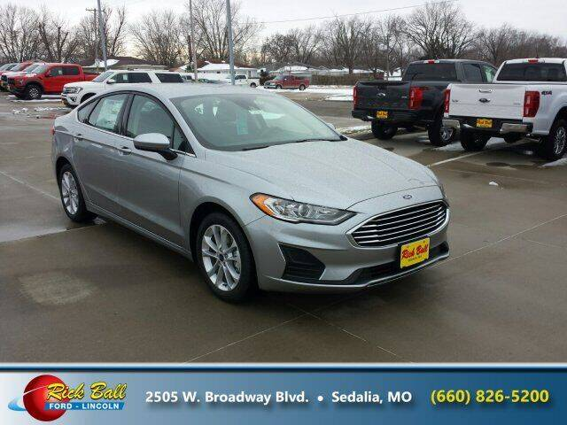 2020 Ford Fusion Hybrid for sale at RICK BALL FORD in Sedalia MO