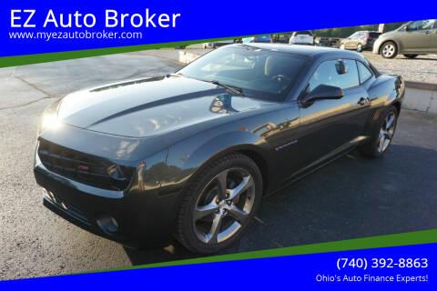 2013 Chevrolet Camaro for sale at EZ Auto Broker in Mount Vernon OH