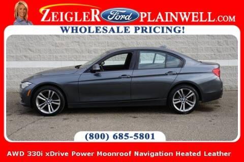 2017 BMW 3 Series for sale at Zeigler Ford of Plainwell- michael davis in Plainwell MI
