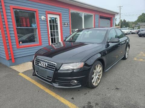 2012 Audi A4 for sale at Top Quality Auto Sales in Westport MA
