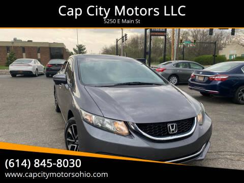 2014 Honda Civic for sale at Cap City Motors LLC in Columbus OH