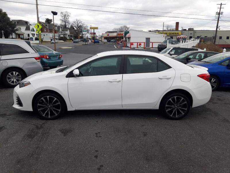 2017 Toyota Corolla for sale at Automotive Fleet Sales in Lemoyne PA
