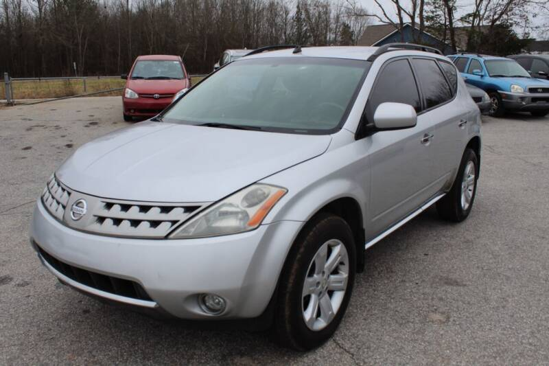 2006 Nissan Murano for sale at UpCountry Motors in Taylors SC